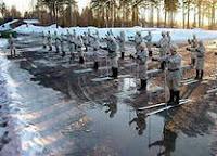 Лыжная подготовка в военном училище