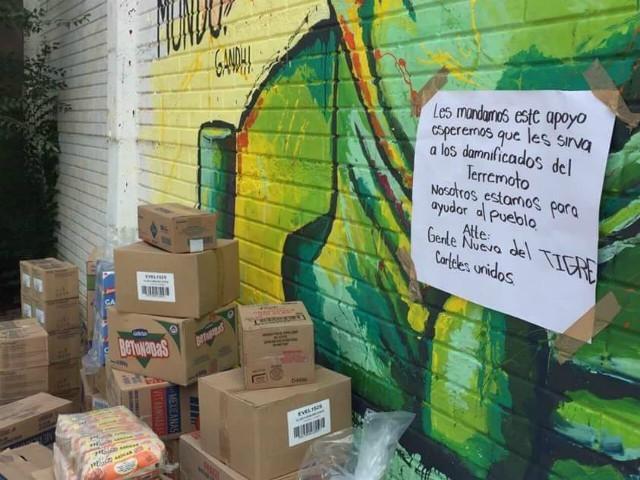 """ASÍ TRABAJA EL CÁRTEL DE """"LA GENTE NUEVA"""" LOS MISMOS QUE DONARON A VICTIMAS DE TERREMOTO"""