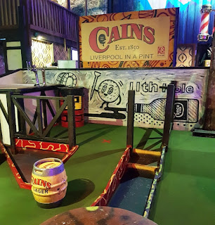 The first Ghetto Golf course opened at Cains Brewery in Liverpool