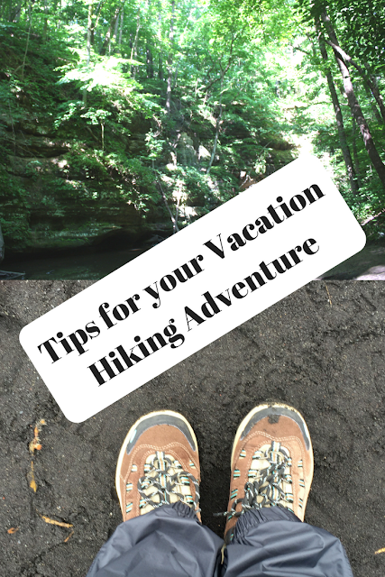 Tips for your Vacation  Hiking Adventure