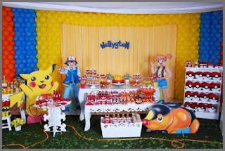 Festa com Tema Pokemon