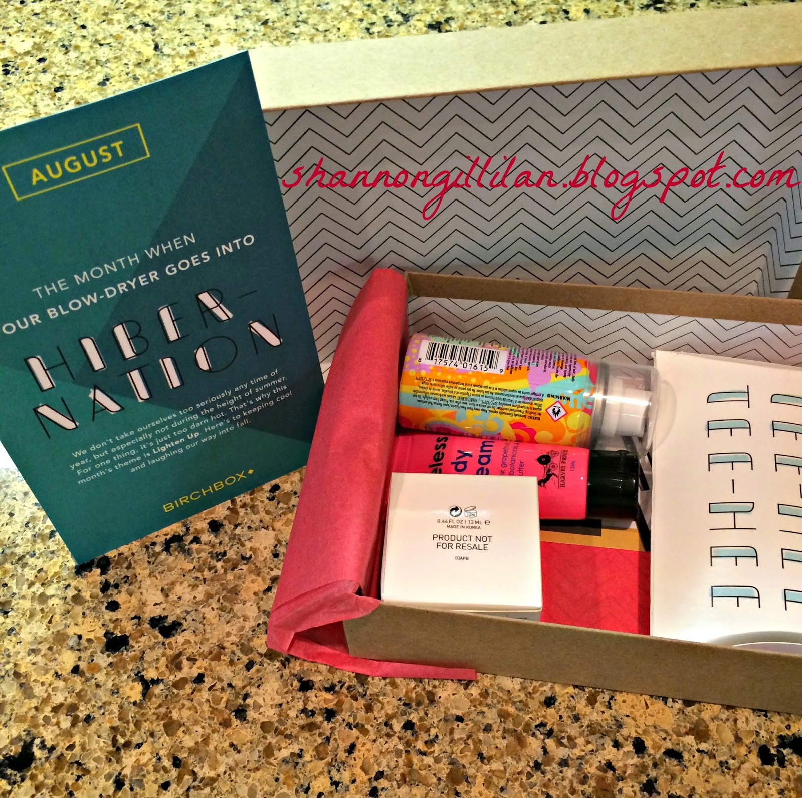 Birchbox Review Beauty www.shannongillilan.blogspot.com