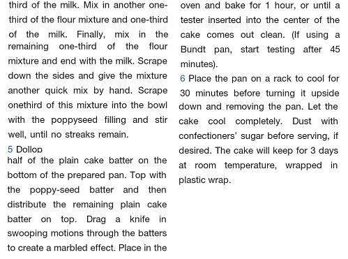 Mohnkuchen recipe 3