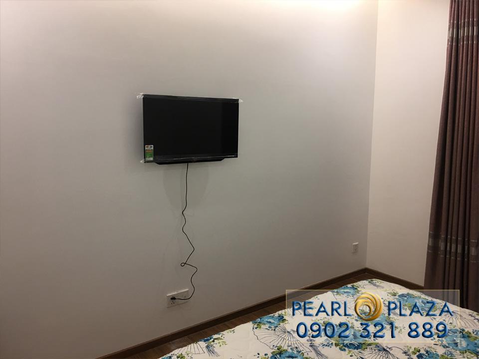 Pearl Plaza Bình Thạnh - tivi phòng ngủ 2