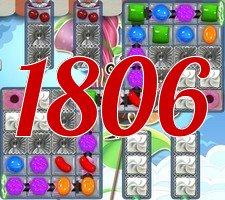 Candy Crush Saga Level 1806