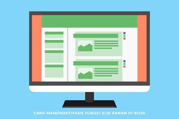 Cara Menonaktifkan Fungsi Klik Kanan di Blog