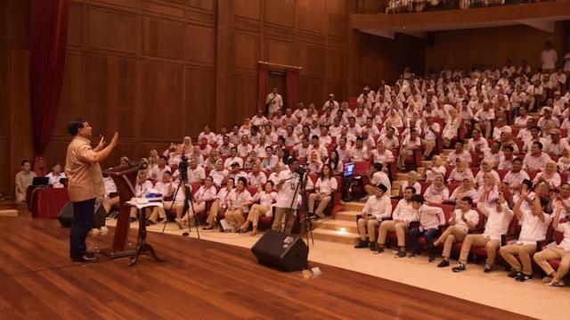 Didatangi GNCP, Prabowo: Saya dan Sandiaga Tak Bisa Berjuang Sendirian