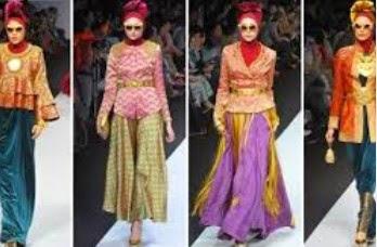 Model Baju Batik Songket Elegan Terbaru