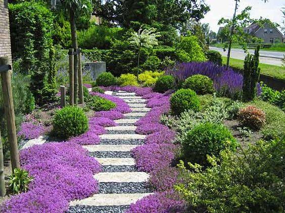 Una casa a modo mio quello che ci piace aiuole e bordure for Progetti di giardini