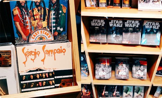 livraria cultura, sérgio sampaio, vinil, urbano e retrô, blog de casal, look de casal, jell e marcelo, blog retrô
