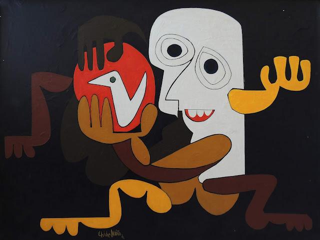 Antonio García Patiño óleo sobre lienzo figurativo