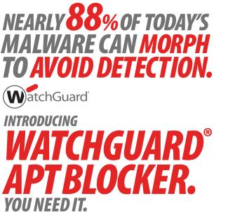 WatchGuard APT Blocker