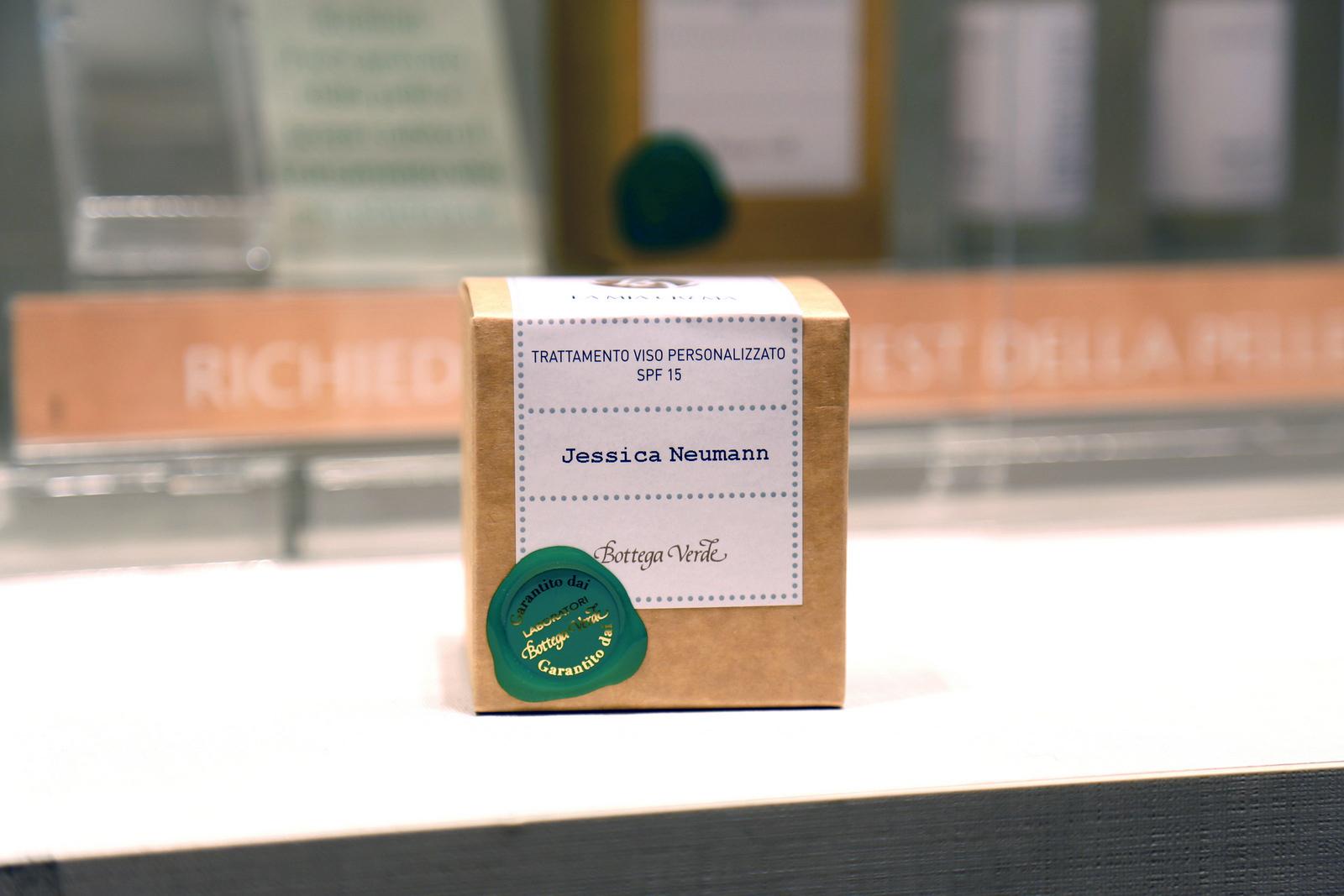 Bottega Verde - Crema personalizzata