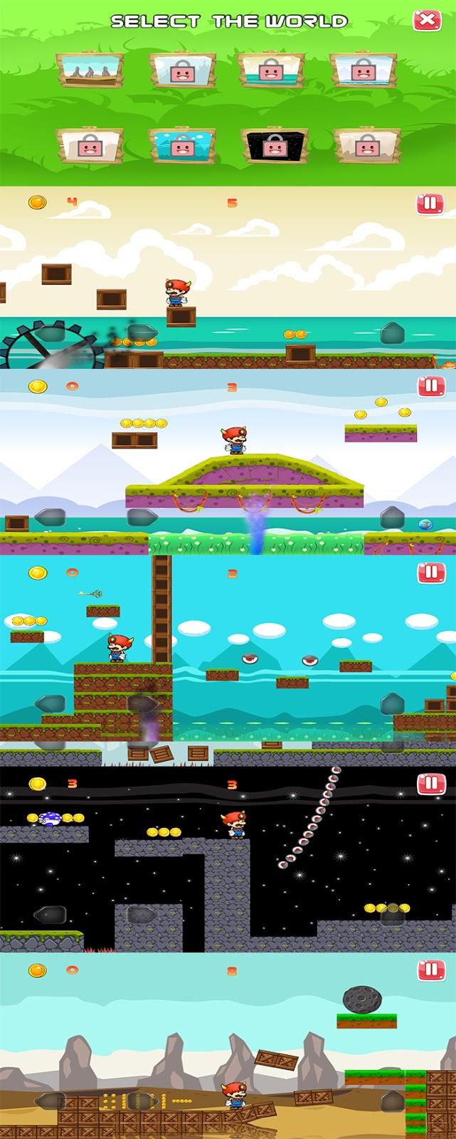 超级MAX世界Android工作室模板+ADMOB(游戏)