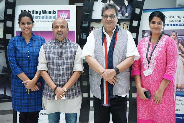 Ms. Meghna Ghai Puri, President, WWI, Mr. Sameer Anjan, Mr. Subhash Ghai, Founder & Chairman, WWI