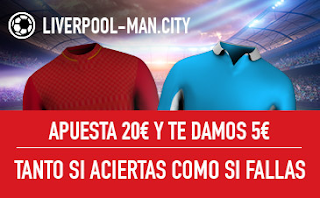sportium promocion Liverpool vs City 4 abril