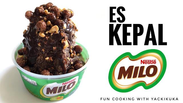 Cara Cepat Membuat Es Kepal Milo Lezat Nikmat Resep Lengkap Berbagai Topping