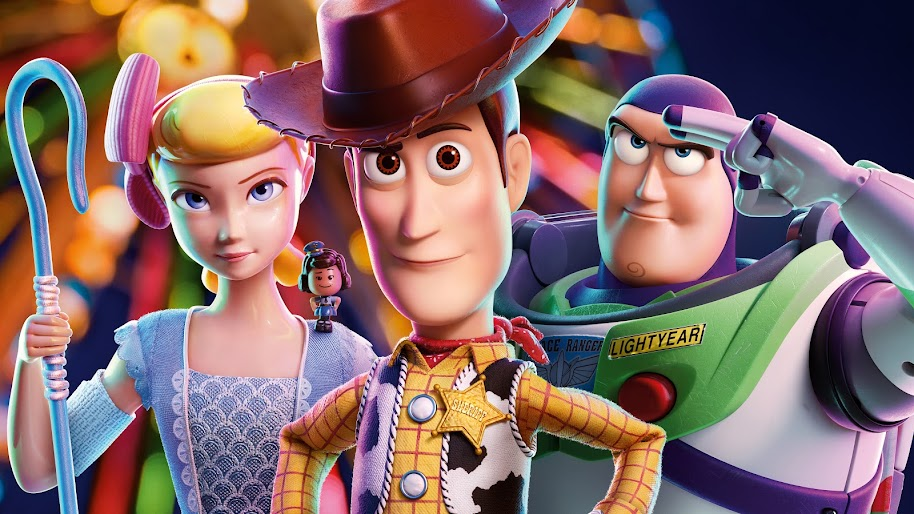 Toy Story 4 Woody Buzz Lightyear Bo Peep Giggle Mcdimples 8k