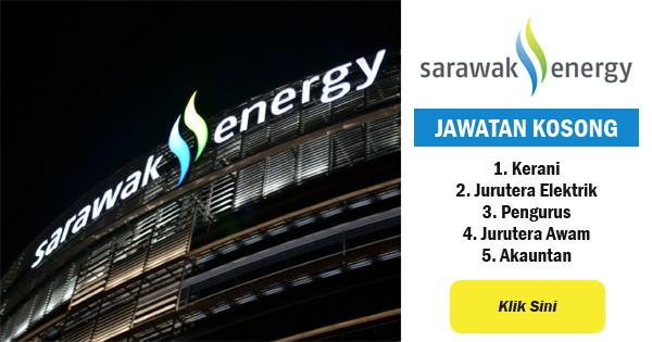 jawatan kosong 2018 sarawak energy
