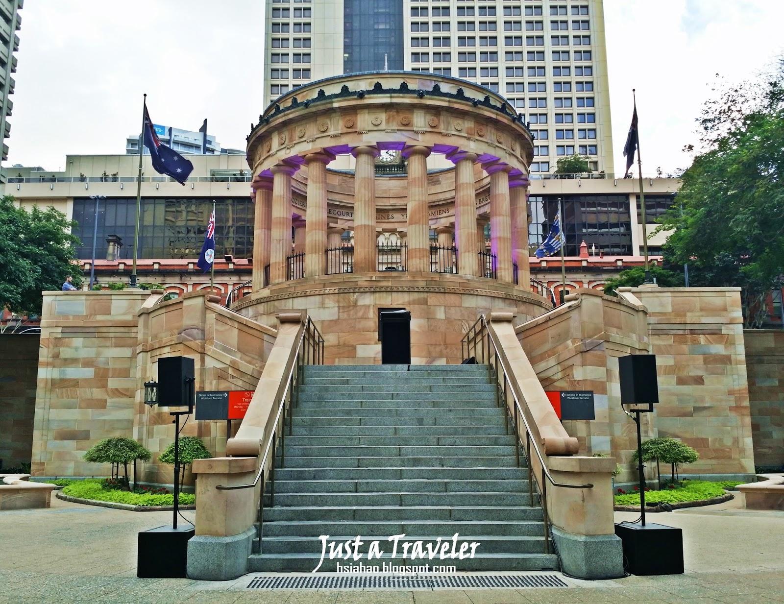 布里斯本-景點-澳紐軍團廣場-ANZAC Square-介紹-遊記-行程-Brisbane