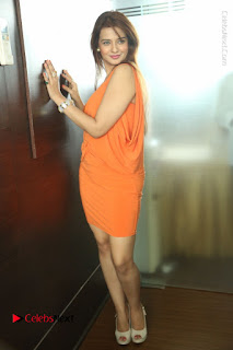 Actress Saloni Aswani Pos in Short Dress at Meelo Evaru Koteeswarudu Movie Interview  0293.JPG