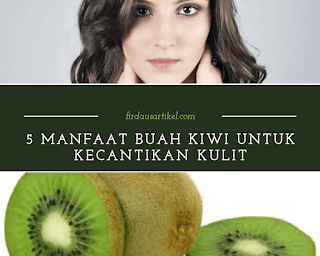 Manfaat buah kiwi untuk kecantikan kulit