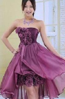 Gaun-pesta-pendek-terbaru-ungu