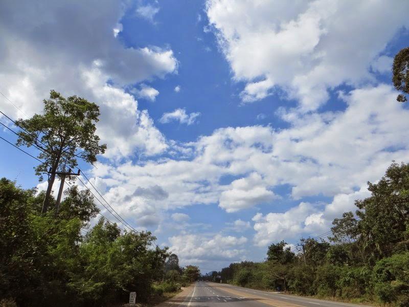 Дорога на юг Таиланда