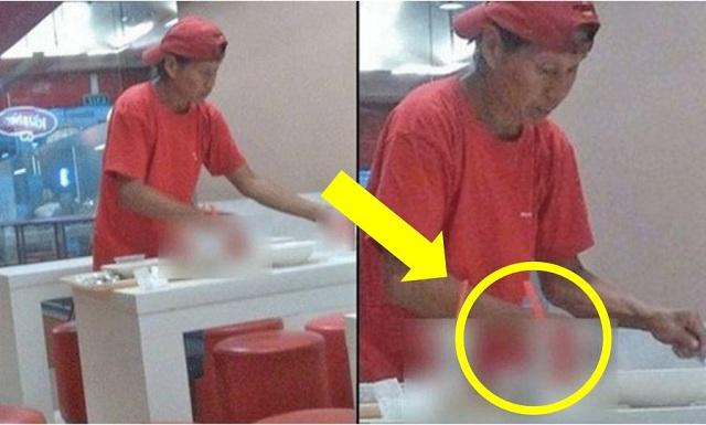 'Pekerja' Ini Tiap Hari Bersih Sisa Makanan Restoran Tanpa Dibayar Gaji..Puncanya Pasti Buat Ramai SAYU !!!
