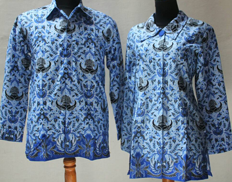 model baju batik terbaru untuk guru