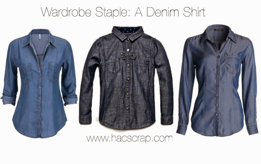Wardrobe Staple: A Denim Shirt