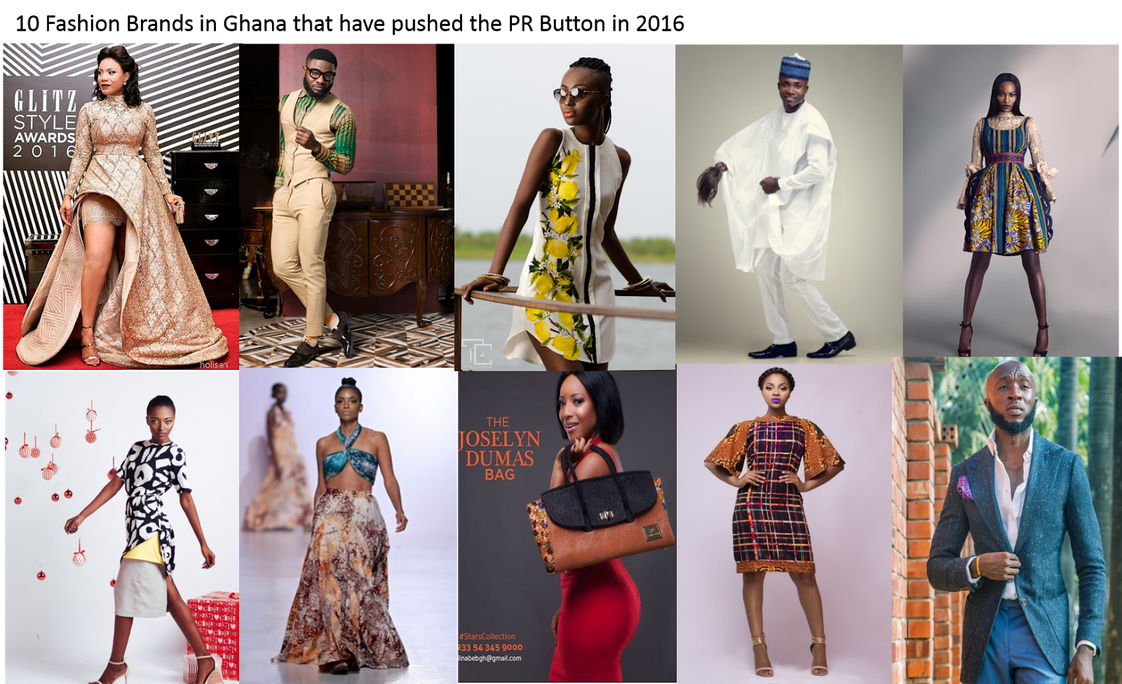 Fashion Public Relations 10 Fashion Brands In Ghana That Pushed The Pr Button In 2016