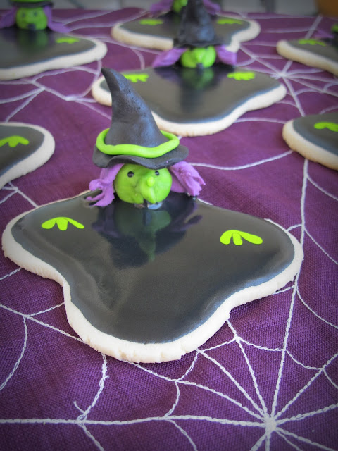 Wicked Witch Of The West Cookies Purple Chocolat Home