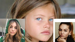 Model cantik Lena-Rose Blondeau saat beranjak dewasa. (Instagram) updetails.com