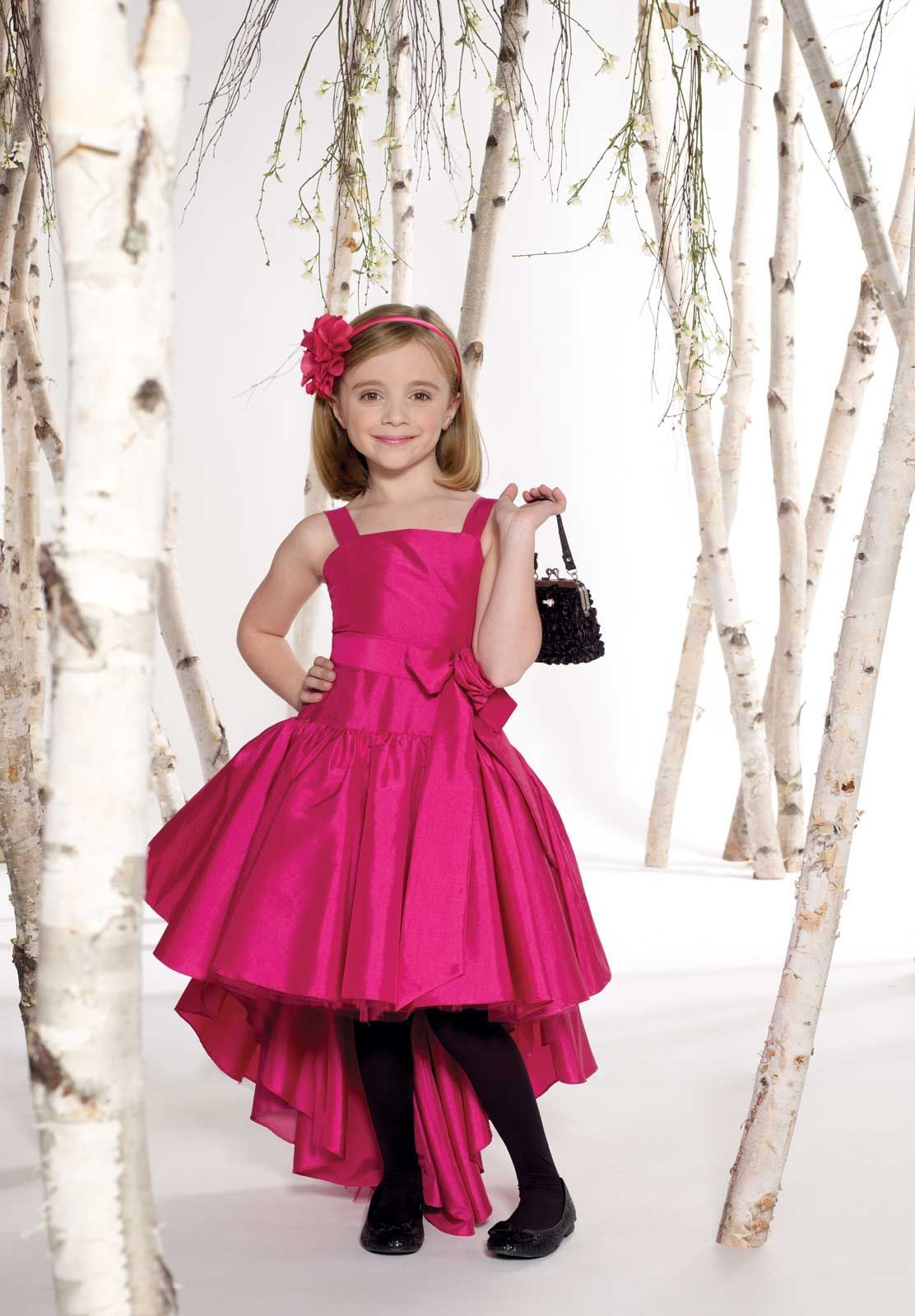 Cute Hairstyles Are For Teen Age Girls Junior Bridesmaid -5426