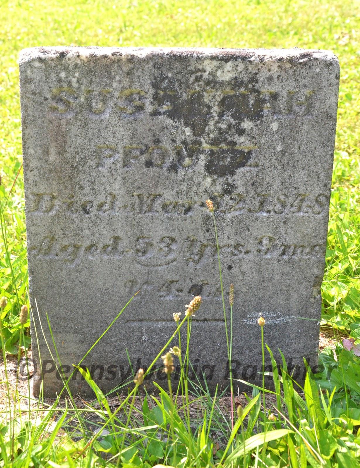 The Pennsylvania Rambler Simeon Pfoutz Lord Of The
