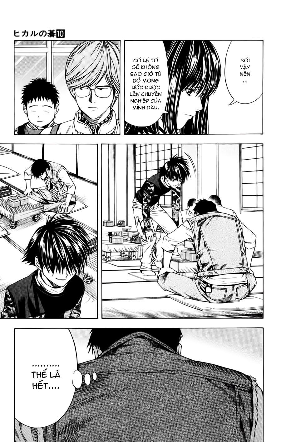 Hikaru No Go hikaru no go chap 87 trang 9