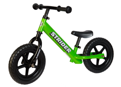 http://www.amazon.com/Strider-Classic-No-Pedal-Balance-Green/dp/B00IZXC0ZC/ref=sr_1_2?s=toys-and-games&ie=UTF8&qid=1448080880&sr=1-2-spons&keywords=strider+bike&psc=1