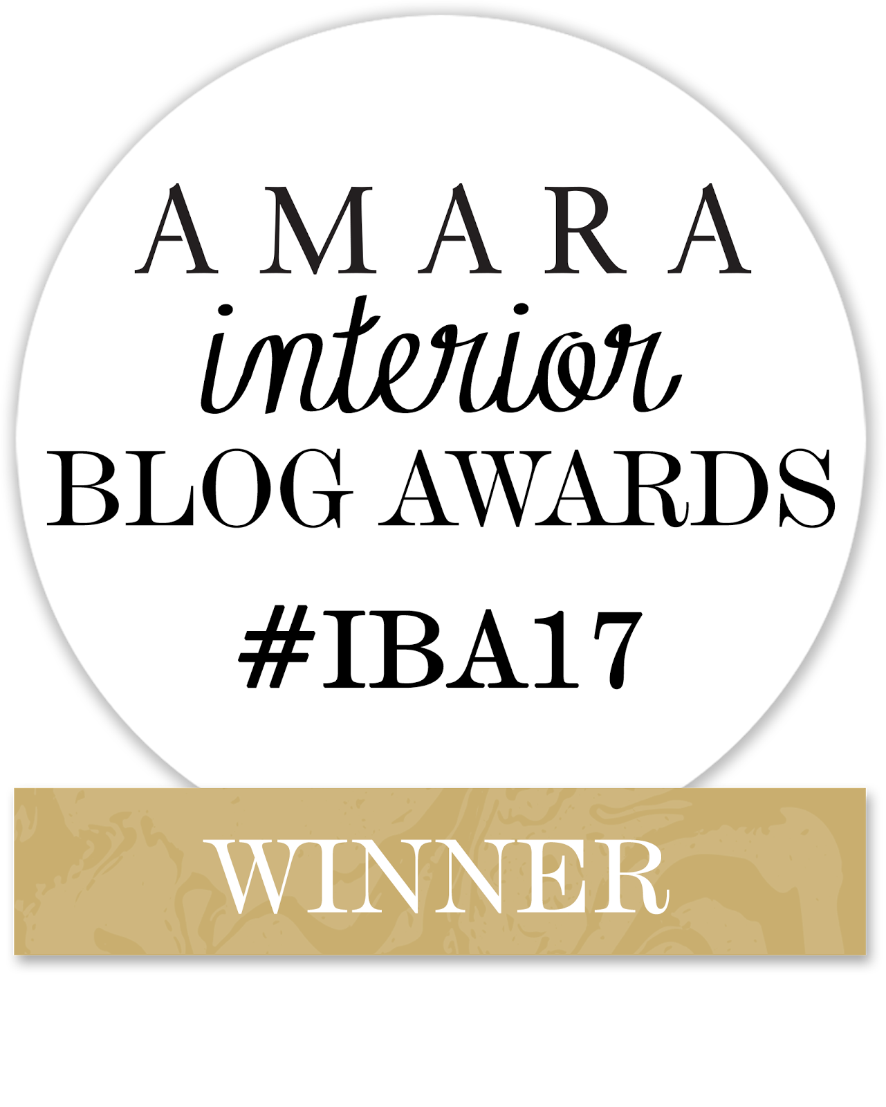 Interior blog awards 2017
