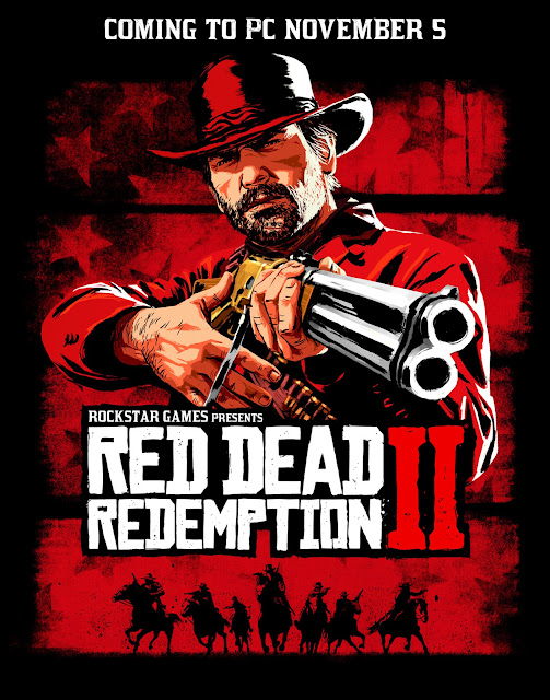 Portada del Red Dead Redemption II para PC