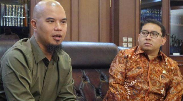Ahmad Dhani Temui Fadli Zon Terkait Kasus Dugaan Penghinaan Presiden