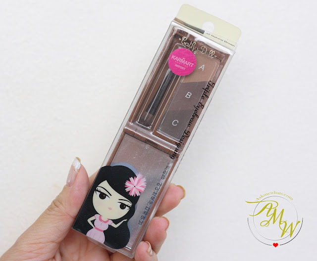 a photo of Cathy Doll Triple Eyebrow Designing in 02 Natural Brown