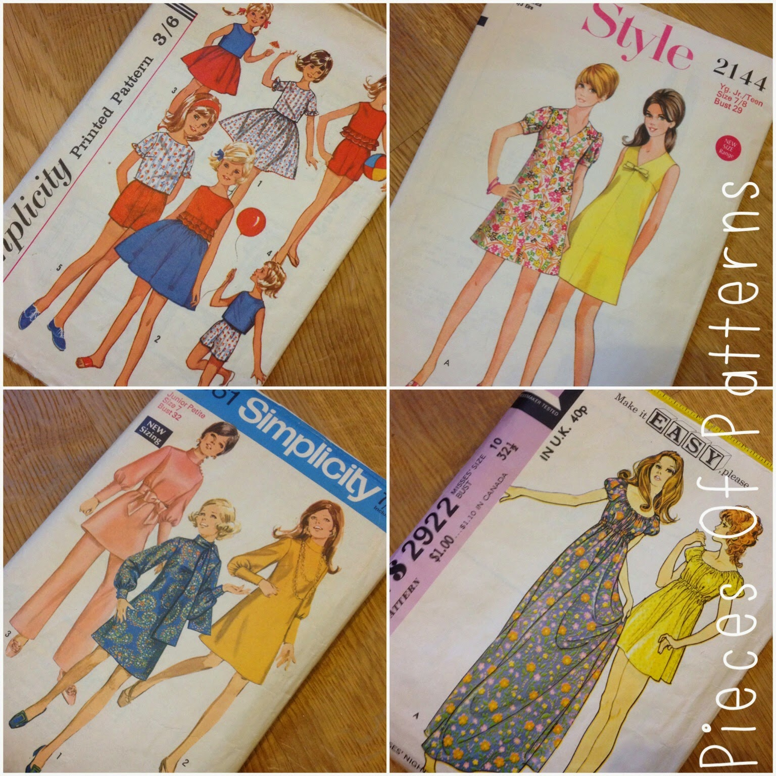 Etsy Vintage Patterns