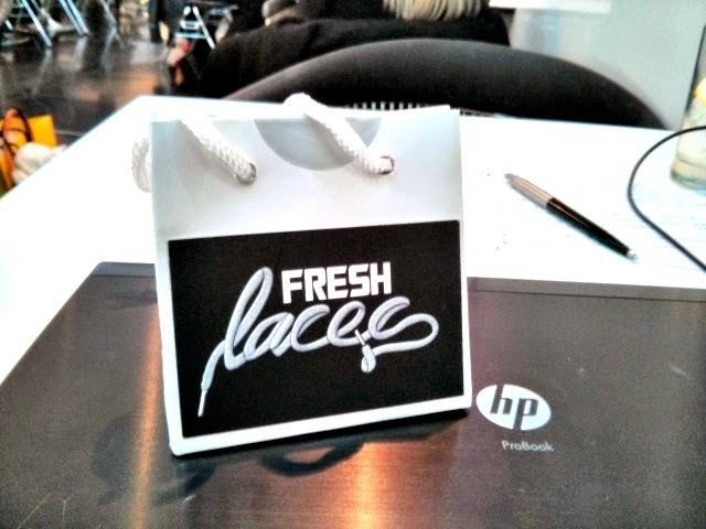 Fresh Laces goody bag