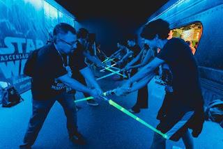 [Eventos] CCXP19 - Batalha Jedi Aquece Público Para Painel De Star Wars Que Acontece Amanhã