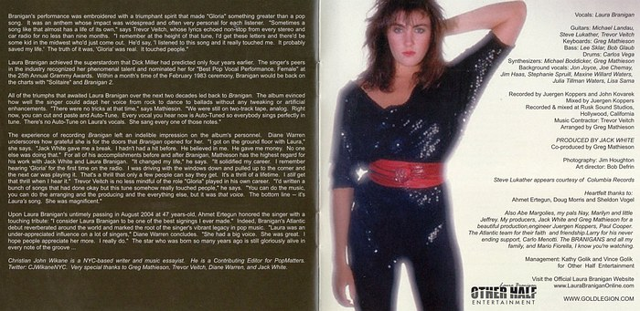LAURA BRANIGAN - Branigan [Remastered & Expanded Edition] booklet
