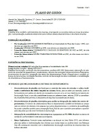 Currículo - Flávio