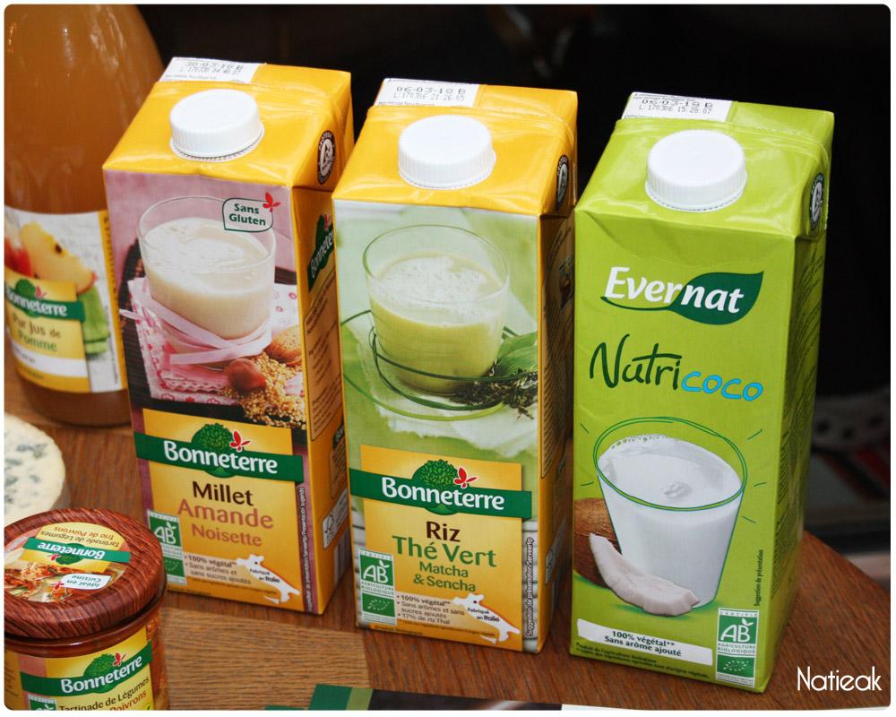 boissons bio Bonneterre et Evernat