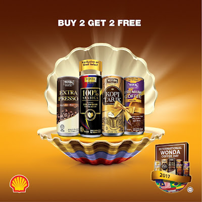 Shell Select WONDA Coffee Buy 2 Free 2