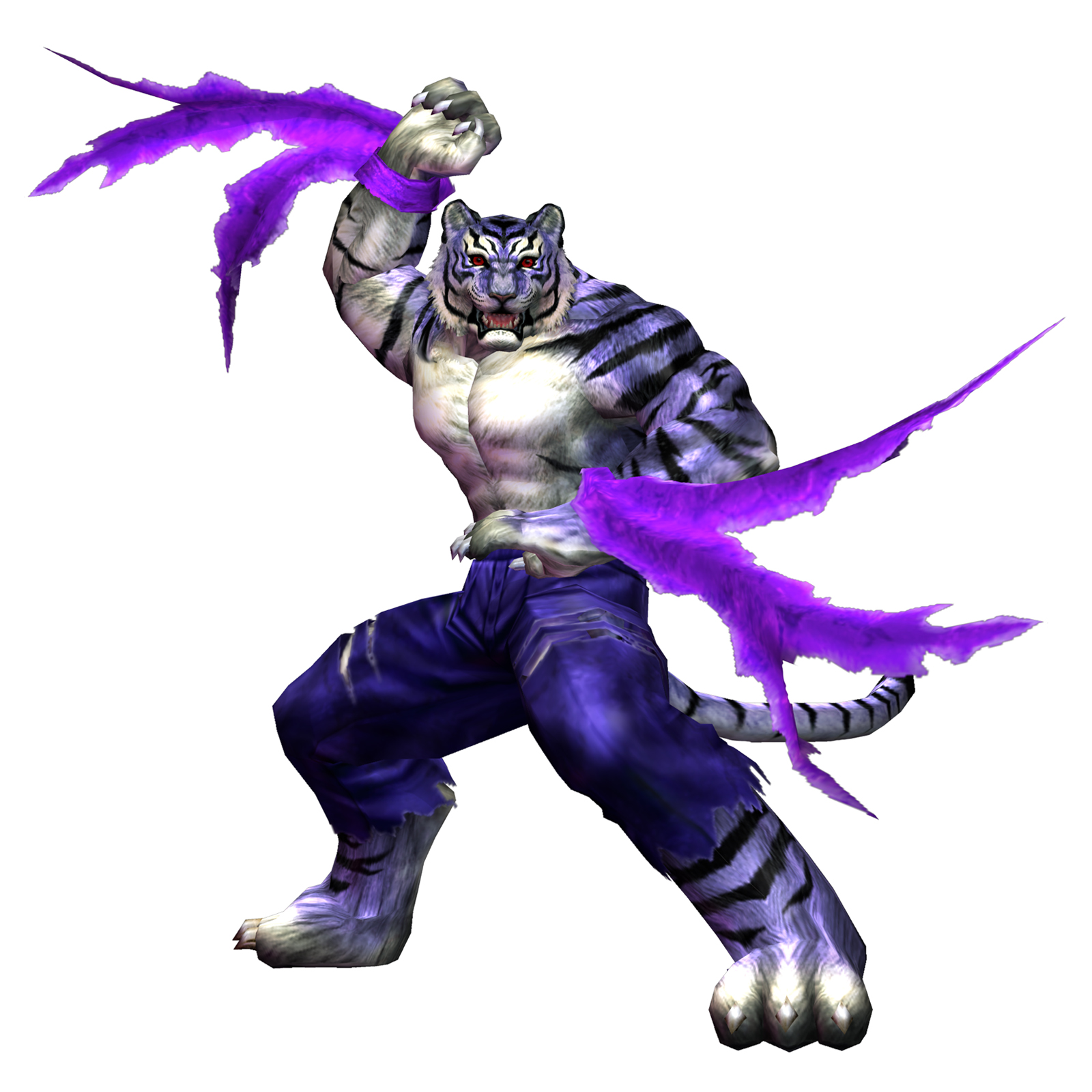 All Videogame Fighting Characters: Shen Long (BLOODY ROAR